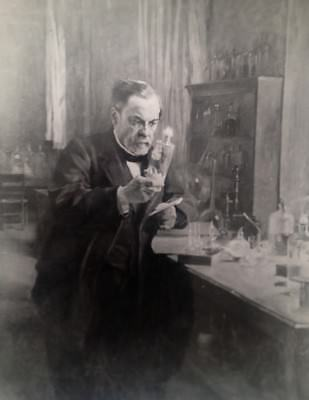 Photographie Tirage Argentique Le Scientifique Louis Pasteur (2497)