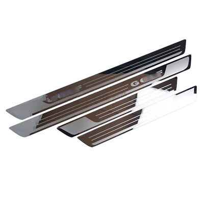 Ultrathin Stainless Scuff Plate Door Sill Pedal For V-W  Golf 7 Golf 6 MK6 MK7