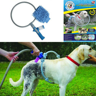Woof Washer 360° Hundedusche Dusche Shampoo Spender Shower Washer Haustier Clean