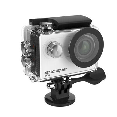 """KitVision Sports Cam Escape 4K WiFi UHD 2"""" LCD Waterproof Action Camera Silver"""