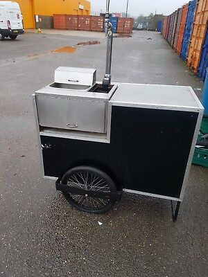 Fully Working Mobile Prosecco Cart