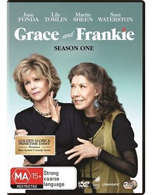 Grace And Frankie : Season 1 (DVD, 3-Disc Set) NEW