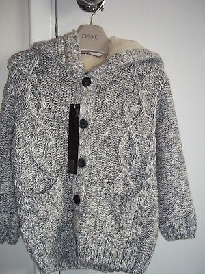 Next Signature grey cardigan, brand new with tags ( 18 - 24 months )