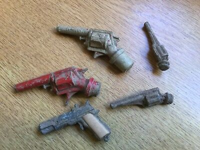 Lot of Old Child's Toy Guns - Metal Detecting Finds