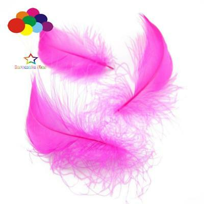 Rose Red Diy 100 Pcs/Lots Goose feather 4-7cm 1-2 Inch Stage Props Dream Catcher