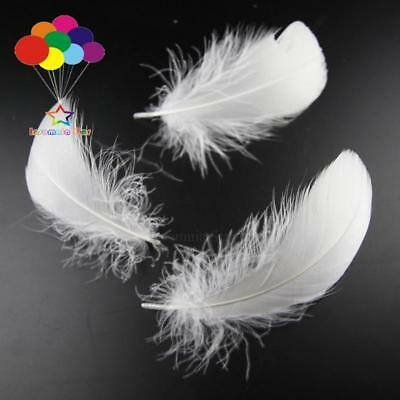 White Diy 100 Pcs/Lots Goose feather 4-7cm 1-2 Inch Stage Props Dream Catcher