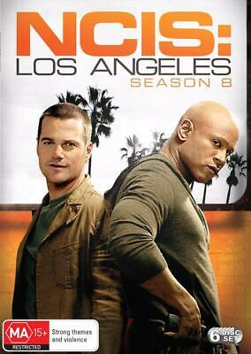 NCIS - Los Angeles : Season 8 (DVD, 6-Disc Set) NEW