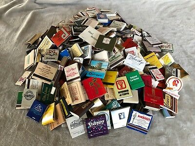 Vintage Collectable Matches - Lot of 340 Matchbooks and Matchboxes