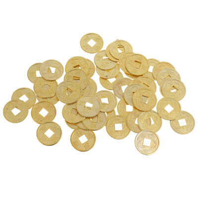 100pcs Chinese Ancient Lucky Coins Feng Shui Coin Wealth Success Ching Money