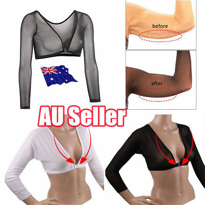 New Women Plus Size Seamless Arm Shaper AU Fast and Free Shipping 2019 NEW  LG