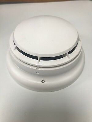 (Lot Of 6) Simplex  Photoelectric Smoke Detector - 4098-9714 - W/base 4098-9792