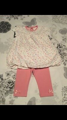 George Baby Pink Leggings Bnwt Age 3-6 Months Girls' Clothing (0-24 Months)