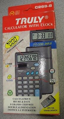 Calculatrice Solaire Truly C269-8 Neuf