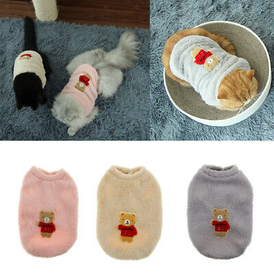 Baoblaze Small Dog Puppy Chilly Days Coat Winter Warm Sweater Cat Outfits