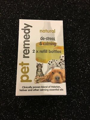 Pet Remedy Natural De-Stress and Calming Refill Pack, 40 ml, Pack of 2 cheap