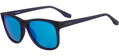 06a5129a9d Nautica Polarized Men s Soft Square Sunglasses w  Blue Mirror Lens -  N3608SP 469