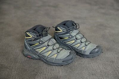 7092a311b81 MEN'S SALOMON X Ultra 3 Wide Mid GTX Hiking Boots, Size 9.5, Lightly Used