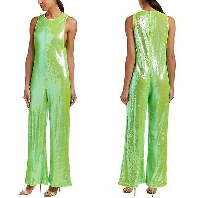 de50f35e1f36 Free people GREEN star bright sequin jumpsuit XS NWT  300 Grinch