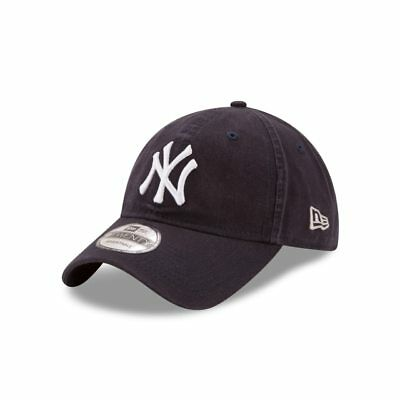 abac288f64b29 New York Yankees New Era Navy Blue Core Classic 9Twenty Adjustable Dad Hat