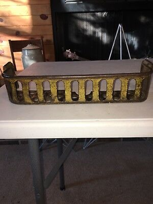 Antique Cast Iron Implement Tool Box #R298 1/2