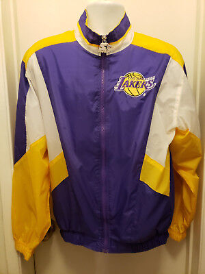 Vintage starter los angeles lakers windbreaker jacket mens womens small jpg  300x400 Los angeles lakers windbreaker d2975f33fa54