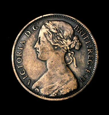 1862 Great Britain One Penny