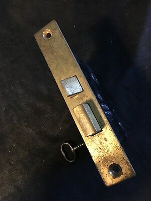 ANTIQUE Sargent  w BRASS FACE MORTISE LOCK