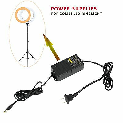 """Zomei 18""""/14"""" cable adapter Power Supplies charger ac adapter for LED Ring Light"""