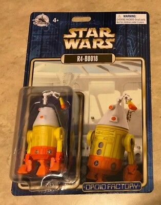 2018 Star Wars R4-B0018 Halloween Droid Factory Figure Disney Parks Exclusiv NEW