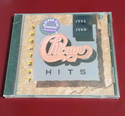 NEW - Chicago - Greatest Hits 1982-1989 CD - FREE SHIPPING!!