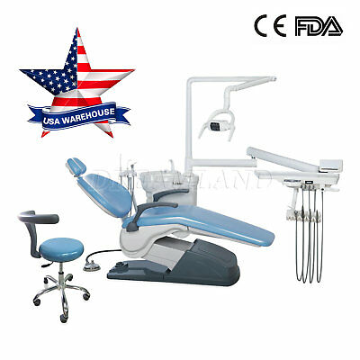 TJ2688 A1 Dental Chair Unit Computer Control Auto water supply 110V LW/T to Door