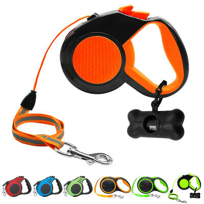 Retractable Dog Leash 26 ft / 10 ft / 16 ft Heavy Duty Dog Rope / Tape Lead Walk