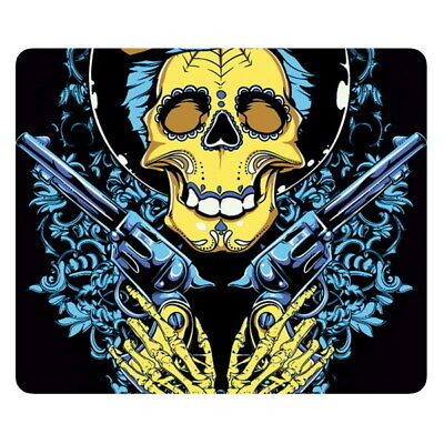 Cool Skull Anti-Slip Mouse Pad Mice Mat Mousepad for Optical Mouse Smooth Gaming