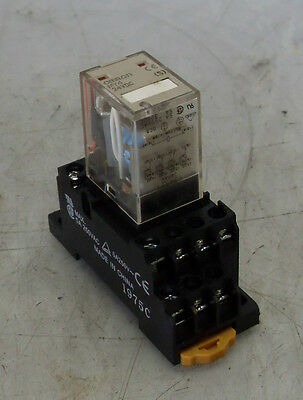 Omron Cube Relay MY4, With Base, 24VDC, Warranty ON 2 OR MORE
