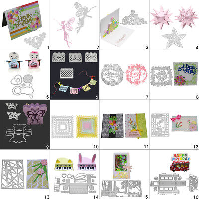Fairy Frame Cutting Dies Metal Stencil DIY Scrapbooking Album Paper Card Flower