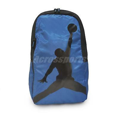 b332618d901a Nike Air Jordan Crossover Pack 24L Blue Black Training Backpack Bag  9A1911-U1X