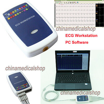 CONTEC8000G Multi-function PC ECG/EKG Workstation System 12 Lead Resting Record