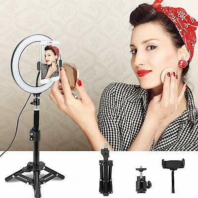 """Zomei LED Ring Light lamp 10"""" Selfie Photograph Dimmable lighting USB interface"""