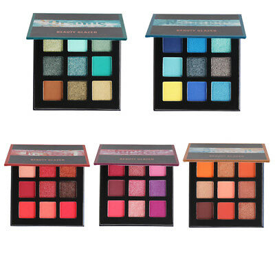 Beauty Glazed 5 Colors Eye Shadow Palette Shimmer Matte Eyeshadow Powder K0Jn