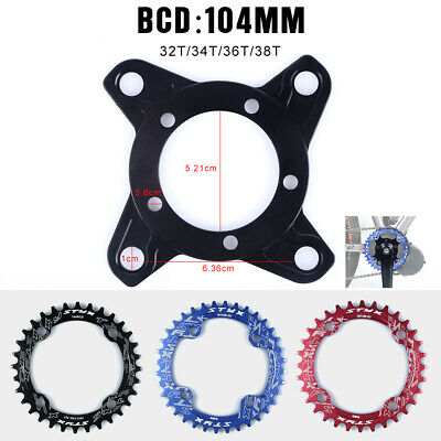 Chain Ring Spider Adapter for 8Fun eBike Mid Drive Motor Bafang 104BCD 130BCD