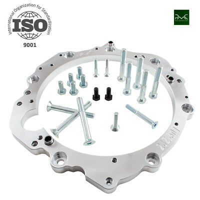 TOYOTA 1JZ 2JZ ENGINE ADAPTER PLATE TO 01E 2.5TDI GEARBOX SWAP PMC Motorsport