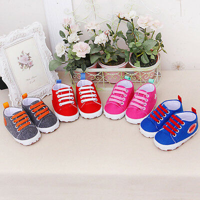 Newborn Infant Baby Cartoon Girls Boys Soft Prewalker Casual Flats Shoes SX