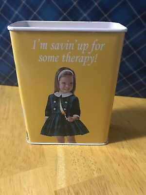 "Vintage Blue Q ""I'm Savin' Up For Some Therapy"" Piggy Bank"
