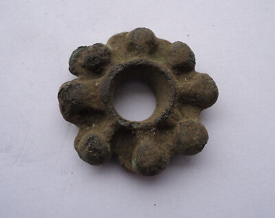 Ancient celtic bronze ring money proto coin circa 500 BC