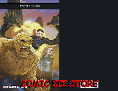 Fantastic Four #5 (2018) 1St Printing Scarce 1:10 Witter Variant Cover Marvel