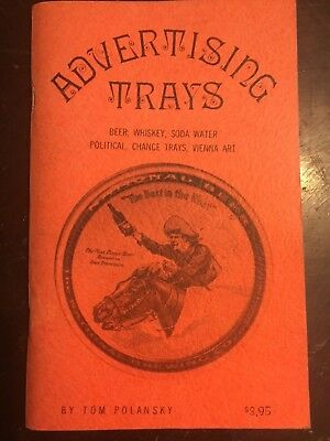 Advertising Trays Identification Collectors Guide Book Softback
