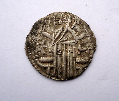 Old Medieval  Silver Coin  #25