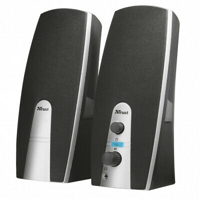Trust MiLa 2.0 Stereo PC Speakers – Set of Two 8W Computer / Laptop Speakers