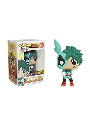 DEKU (BATTLE) My Hero Academia Funko Pop #252 Exclusive NIB In Hand! FAST SHIP