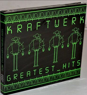 2Cd Kraftwerk - Greatest Hits Collection Music 2Cd [NEW]